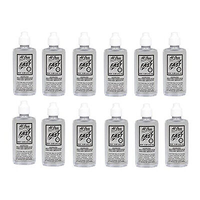 1 Dozen Al Cass Valve Slide & Key Oil 2 Oz - Bulk Pack Of 12 Bottles