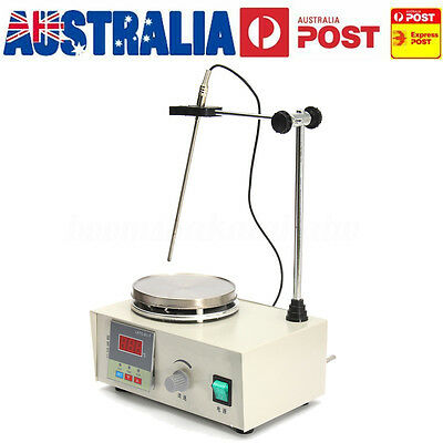 AU 85-2 220V Magnetic Stirrer Mixer With Heating Plate Hotplate Digital Display