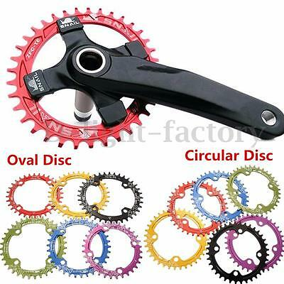 SNAIL MTB BMX Bike Bicycle Tooth Narrow Chain Chainring BCD 104mm 32T 34T 36T