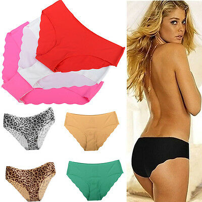 Sexy Women's Seamless Soft Lingerie Briefs Hipster Underwear Underpants Panties
