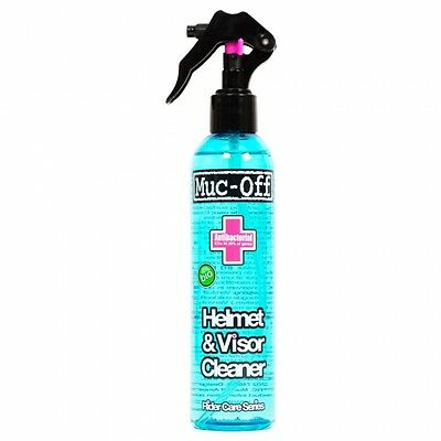 MUC OFF MOTORCYCLE BICYCLE HELMET VISOR LENS CLEANER - 250ml - BRAND NEW - M219
