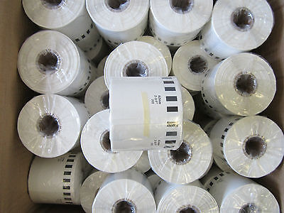 5x Brother Compatible DK2205 Printer Labels 62mm x 30.48M Continuous Roll+Spool