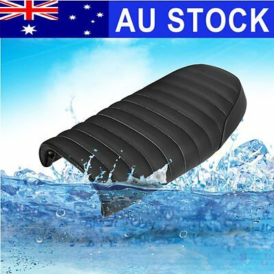 AU Black Saddle Cushion Hump Durable Cafe Racer Seat For Honda CB350 CB450 CB750