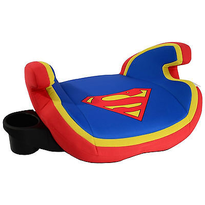 New Kids Embrace Group 2 3 Childs Booster Cushion Car Seat Superman