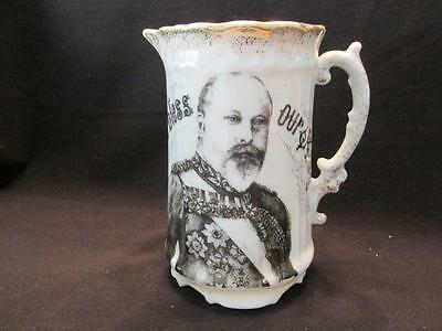 Edward VII God Bless Our King 22 January 1901 Accession Rare Brittania Pitcher