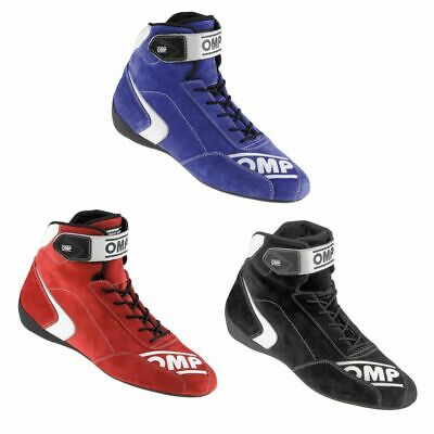 OMP First S Race / Racing / Rally Suede Boots - FIA Approved - IC802