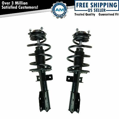 Front Loaded Complete Strut Spring Assembly Pair 2pc for Acadia Traverse New
