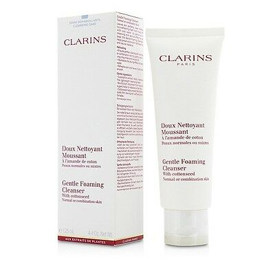 Clarins Gentle Foaming Cleanser with Cottonseed (Normal / Combination 125ml
