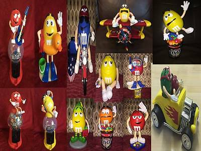M&M Sweet Candy Dispenser Various Soft Toys & Figures