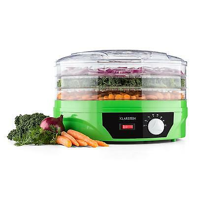 New Food Dehydrator Machine With Thermostat Control Green Meat Jerky Fruit Dryer