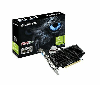 GIGABYTE GeForce N710 PCIe Video Card DVI/HDMI/VGA Twin Monitor Support GT710