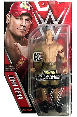 Wwe John Cena Chase Belt Wwf Nxt Series 59 Basic Action Mattel Wrestling Figure