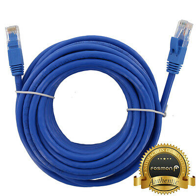 25ft Cat6 Network LAN Ethernet Patch Cable Cord Blue for Router PS4 PS3 Xbox PC