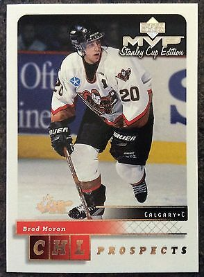 1999-00 Brad Moran Ud Mvp Stanley Cup Edition Prospects Silver Script #203