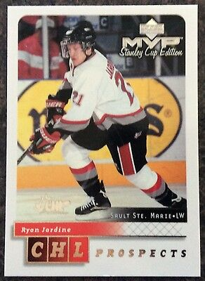 1999-00 Ryan Jardine Ud Mvp Stanley Cup Edition Prospects Silver Script #198