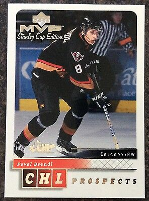 1999-00 Pavel Brendl Ud Mvp Stanley Cup Edition Prospects Silver Script #194