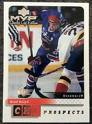 1999-00 Brad Ralph Ud Mvp Stanley Cup Edition Prospects Silver Script #207