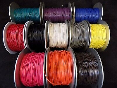 14 Gauge Gpt Wire Pick 5 Colors 50 Ft Ea Primary Awg Stranded 100% Ofc Copper