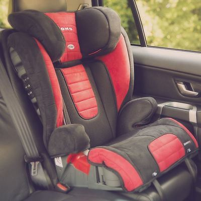 Diono Monterey 2 Child Car Travel Booster Seat Red - Group 2/3 With Headrest