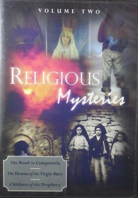 Religious Mysteries Vol 2 Compostela, Virgin Mary, Children of Prophecy NEW DVD