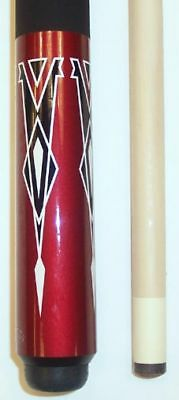 Cuetec 13-021 Red Rocket Pool Cue - 13mm - Free Joint Caps