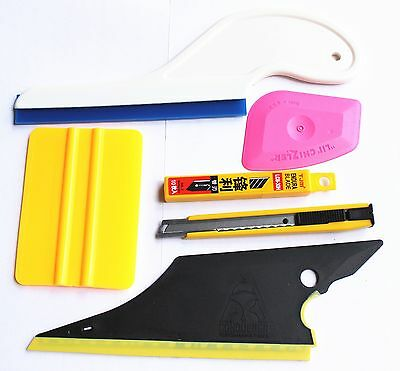 Useful 6 in 1 Car Window Film  Tools Squeegee Scraper Set Kit Car Home Tint