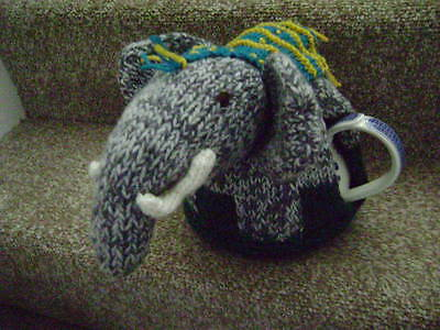"New Hand Knitted ""Elephant"" Tea Cosy ~ Large"