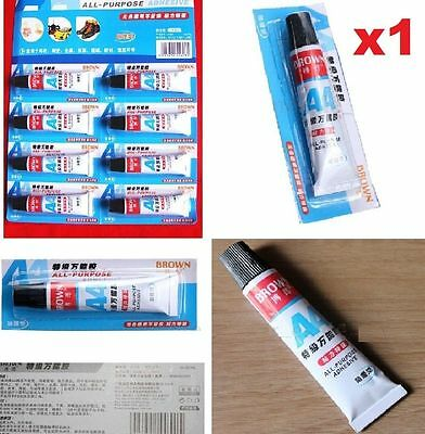 FD4613 All Purpose Adhesive Glue Shoe Repair Care Strong Bond Leather Rubber X1☆