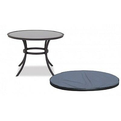 Garland Premium quality 4-6 Seater Round Patio Garden Table Top COVER Black