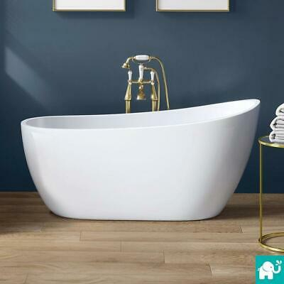 FreeStanding Bath Tub Roll Top Bath Designer Double Ended Luxury Bathroom Modern