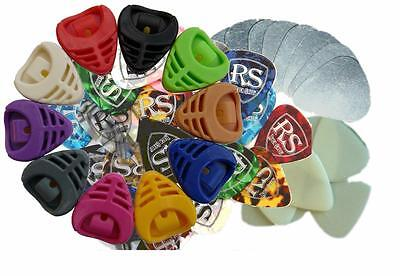 assorted NEW GUITAR PICKS electric or acoustic GUITAR PLECTRUMS by RockSkool