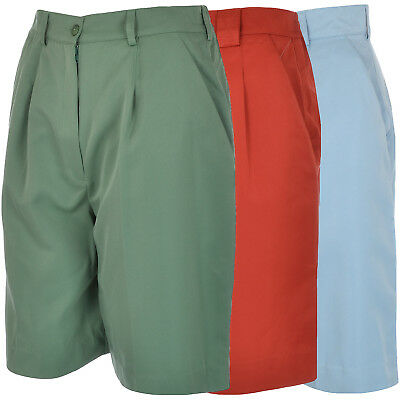 TAIL Womens Ladies Pleated Golf Shorts