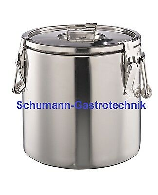Thermobehälter, CNS, m. Dichtung 30 Liter, Fallgriffe