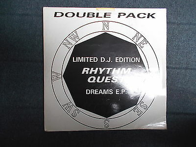 "Rhythm Quest The Dreams EP 2x12"" Network Records 1992"