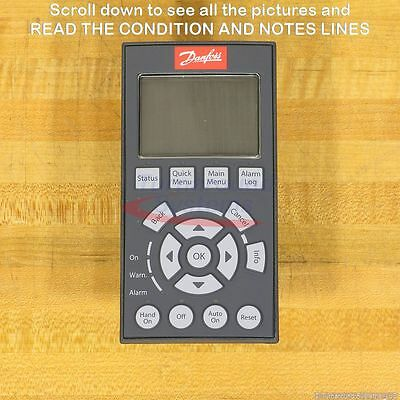 Danfoss LCP 102 Graphical Local Control Pads, NEW!