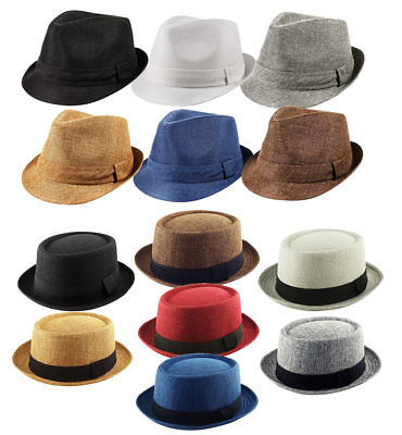 Heisenberg Breaking Bad Porkpie Classic Trilby Textured Hat Cap Mens Pork Pie