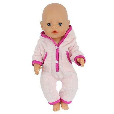 1set Doll Clothes Wearfor 43cm Baby Born zapf (only sell clothes ) B608