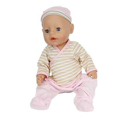 1set Doll Clothes Wearfor 43cm Baby Born zapf (only sell clothes ) B615