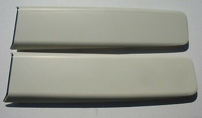 Mopar 67 GTX Hood Scoops With Bezels and Hardware NEW 1967 PAIR