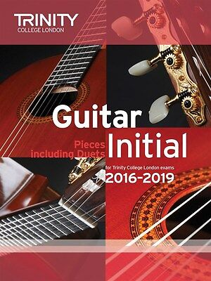 Trinity College Guitar Pieces Initial from 2016-19 - Same Day P+P