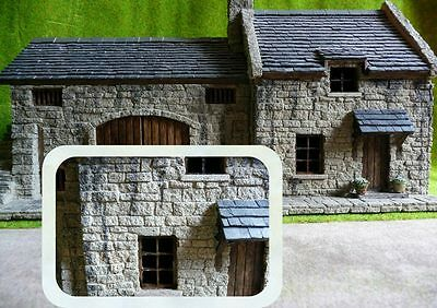 "*** NEW  6sq"" ROUGH FACED GREY STONE 1:48th SCALE / BRITISH O GAUGE ***"