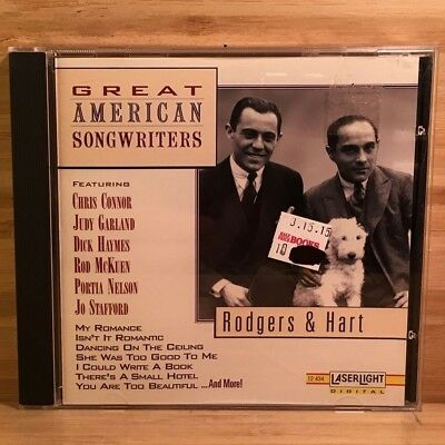 Great American Songwriters by Rodgers & Hart [Vocals] CD 1994 Delta (VG+) #V110