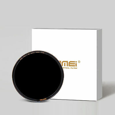 Zomei 58/67/77mm Sliver Multi-Coated Glass Neutral Density ND1000(3.0) Filter