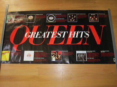 QUEEN Greatest Hits Promo Poster 24x48