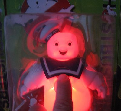 lot of 3 GHOSTBUSTERS action figure STAY PUFT Rowan MAYHEM light up movie NEW