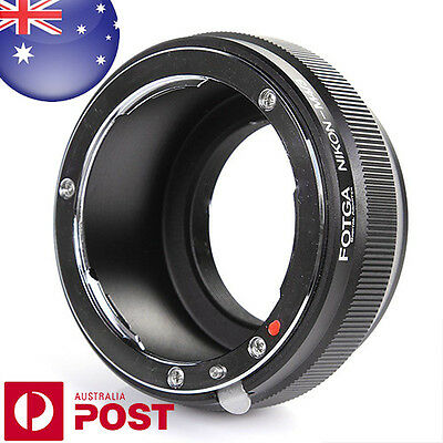 Adapter Ring Nikon F Lens to Micro 4/3 Mount Camera M43 M4/3 Four Thirds  Z535