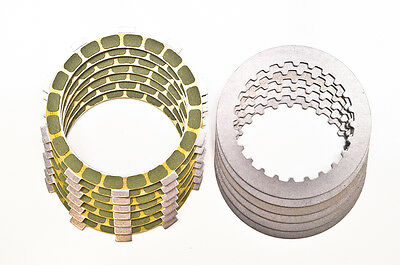 96-04 Honda XR400R Barnett Friction and Steel Clutch Plates kit - Kev.