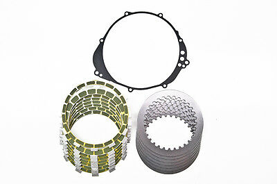 98-03 YZF-R1 Barnett Kevlar Friction and Steel Clutch Plates Kit with OEM Gasket
