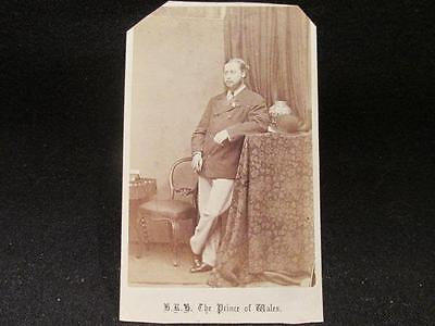 HRH Prince of Wales King Edward VII J Russell & Sons Chicester Antique CDV