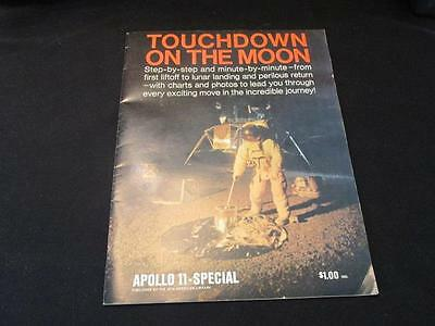 Touchdown on the Moon Apollo 11 Special 1969 New American Library